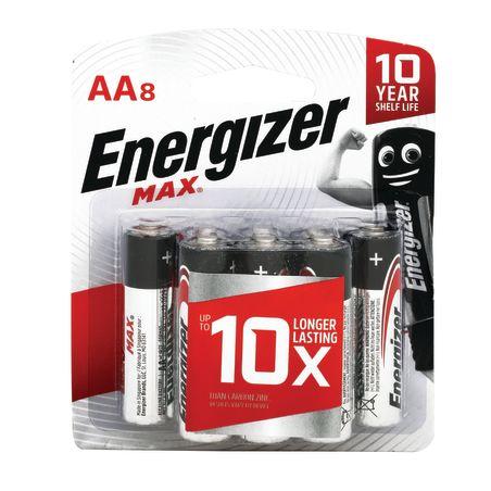 Energizer  סוללות מקס 1X8 AA
