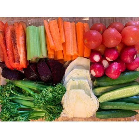 מגש ירקות חתוכים