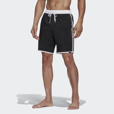 שורט שחיה אדידס לגברים   Adidas 3-Stripes Clx Swim Shorts