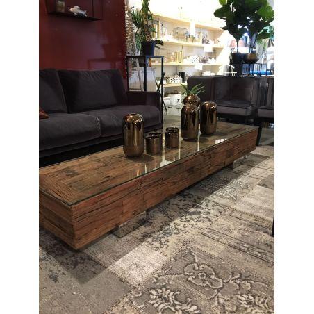 שולחן סלון/מזנון עץ מלא יחיד ויחודי