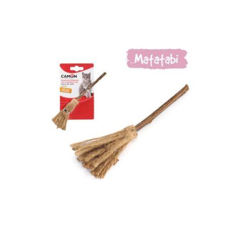 צעצוע לחתול עם מטאטאבי- מטאטא