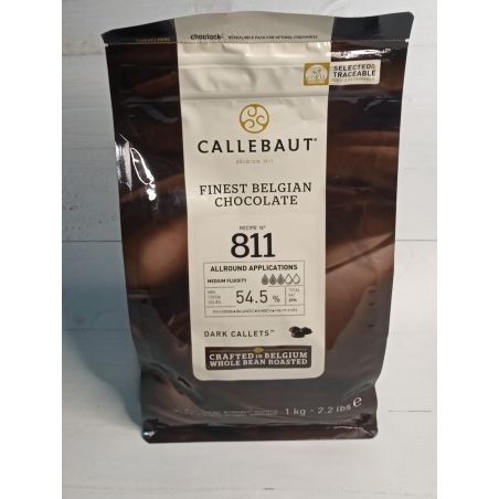 CALLEBAUT  שוקולד מריר - קילו