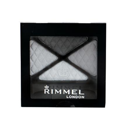 RIMMEL LONDON  צלליות גלאם אייז רביעייה - 001שחור סמוקי