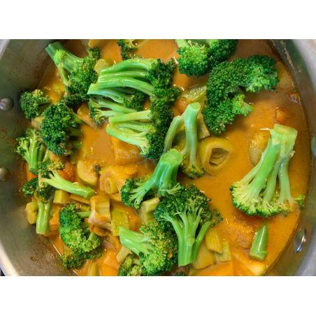 קארי ירקות צמחוני