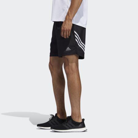 שורט אדידס לגברים Adidas Run It 3 Stripes Short