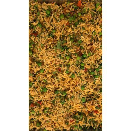 תבשיל אורז עם ירקות