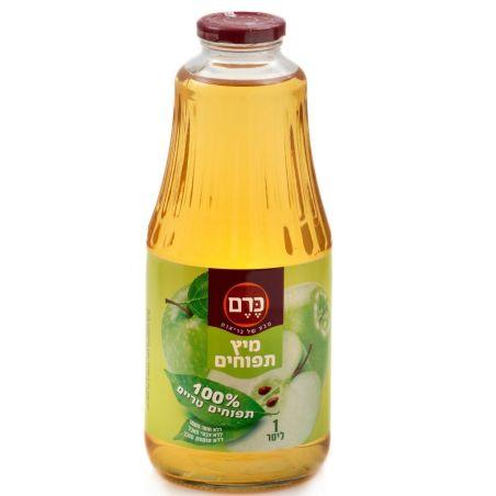 מיץ תפוחים 100% טבעי  1 ליטר