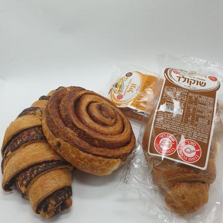 מארז 5 עוגות בוקר ארוזות