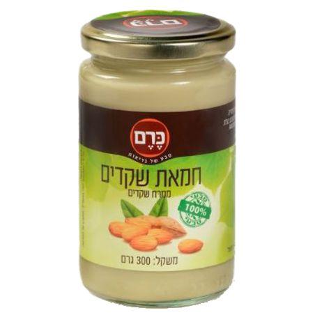 חמאת שקדים  300 גרם ( ממרח)