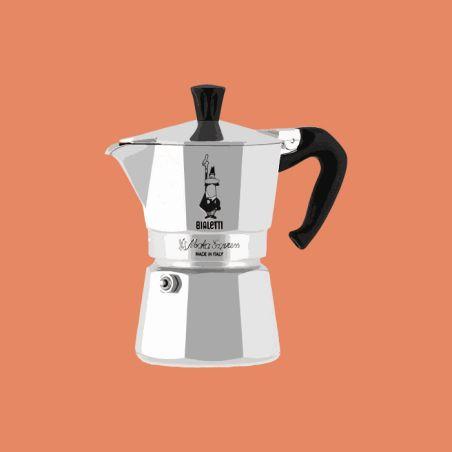 מקינטה ביאלטי אספרסו - 4 כוסות קפה