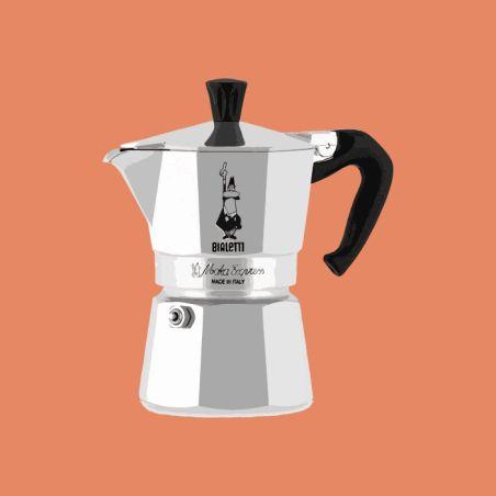 מקינטה ביאלטי אספרסו - 6 כוסות קפה