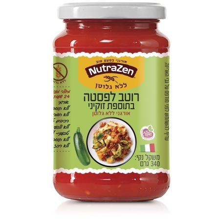 רוטב עגבניות ארביאטה חריף 340 גרם ללא תוספת סוכר