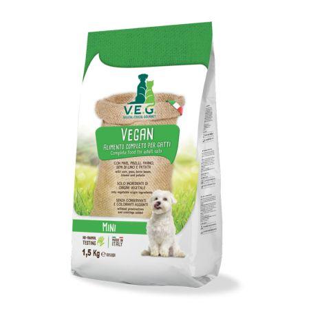 VEG מזון טבעוני לכלבים מיני 1.5 קילו