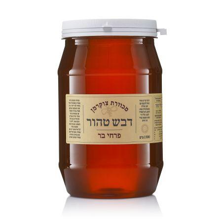 דבש 100% טהור מפרחי בר - 1.5 ק