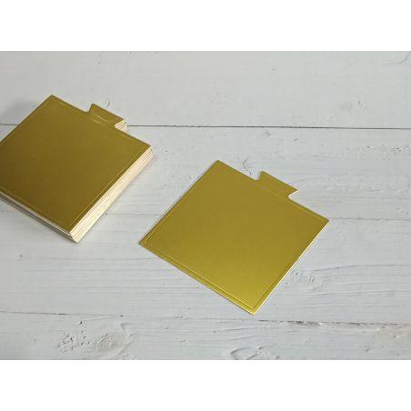 תחתית קינוחים ריבוע זהב