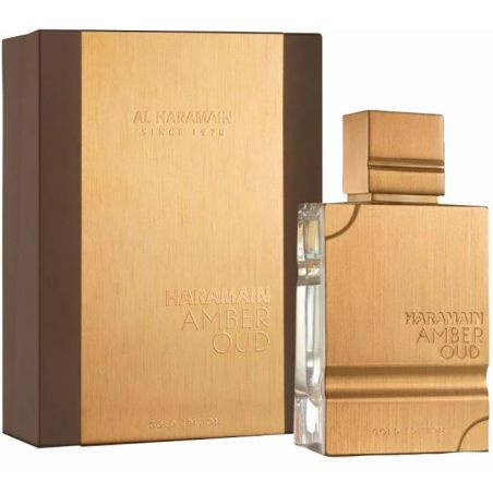 בושם לגבר אל חרמין אמבר אוד גולד אדישן Al Haramain (M) Amber Oud Gold Edition EDP 60 ML