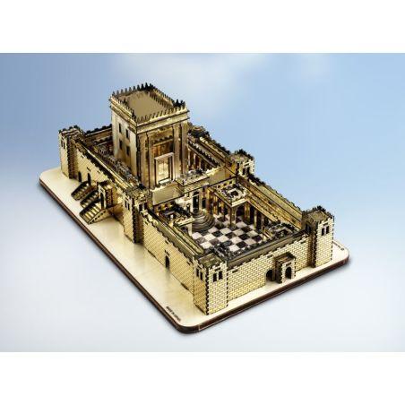 ערכה לבניית דגם בית המקדש מוזהב