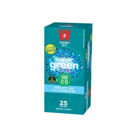 תה ירוק נענע עם ויטמינים C D