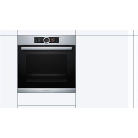 תנור בנוי פירוליטי Bosch בוש דגם HBG676ES1