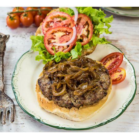המבורגר 100% בשר בקר איכותי וטרי .