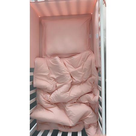 שמיכת SOFT למיטת תינוק |  NEW PINK BASIC