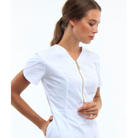 Women's medical jacket White 20