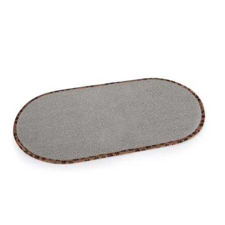 שטיח מיקרופייבר לקערות ההאכלה