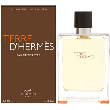 בושם לגבר הרמס טר דה הרמס Terre D Hermes (M) EDT 200 ML