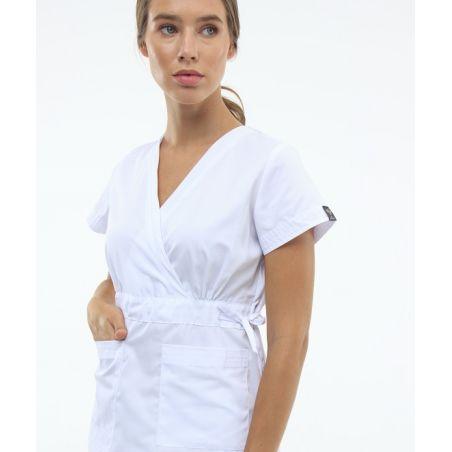 Surgical scrubs set for women White 1981