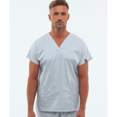 Classical surgical scrubs set for men Grey 0181