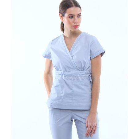 Surgical scrubs set for women Grey 1981