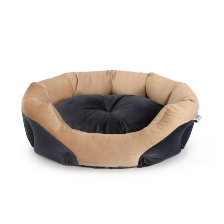 מיטה אובלית מעוצבת לכלב/לחתול