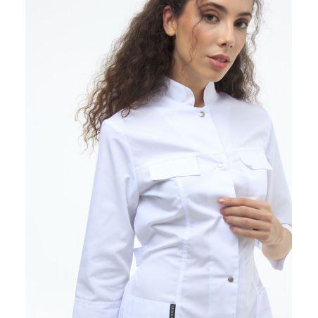 Short scrubs gown for women White 103