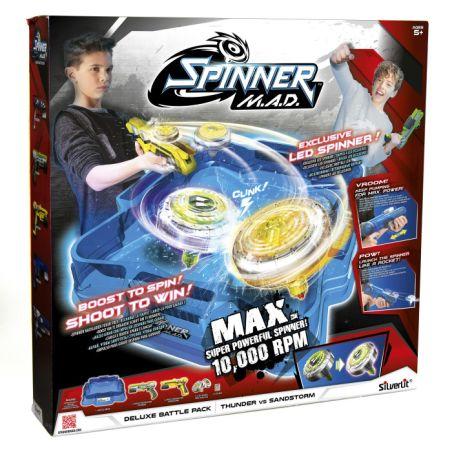 ערכה זוגית עם זירה Spinner M.A.D
