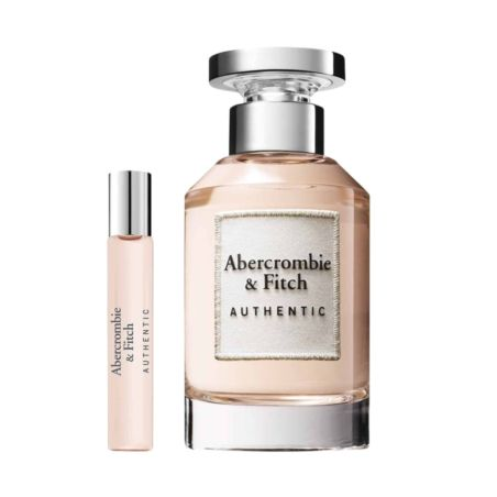 בושם לאשה אברקרומבי אוטנטיק סט Abercrombie Fitch Authentic (W) EDT 100 + 15  ML SET