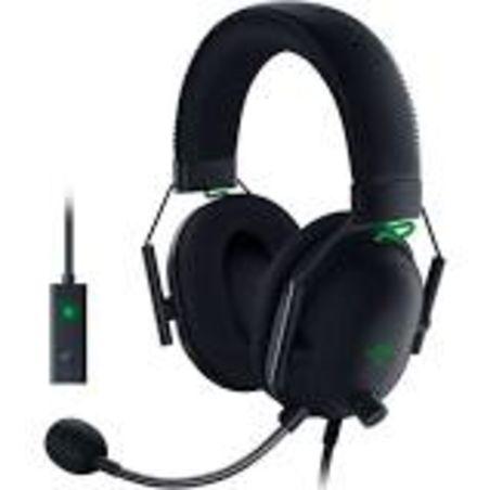 אוזניות חוטיות Razer BlackShark V2 USB רייזר