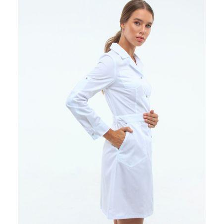 Scrubs gown for women White 106