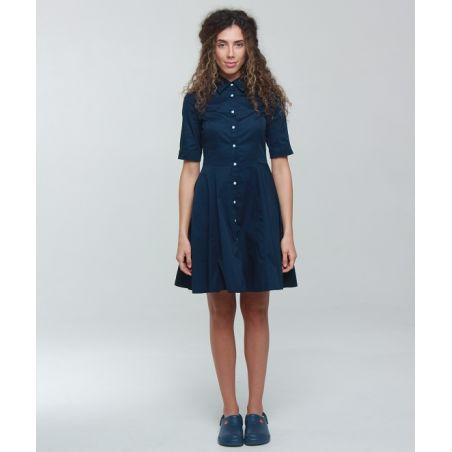 Scrubs gown for women Navy 119