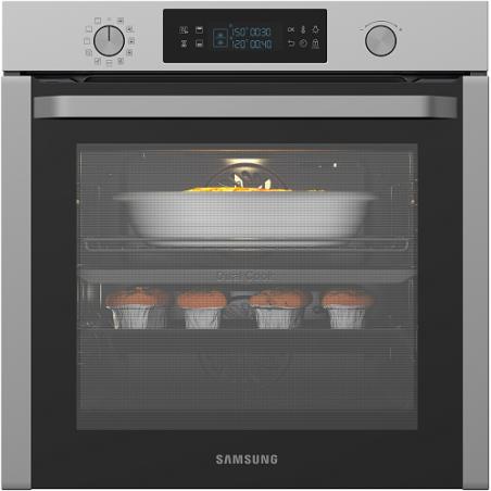 תנור בנוי סמסונג Samsung דגם NV75K5541RS מסדרת DUAL COOKING