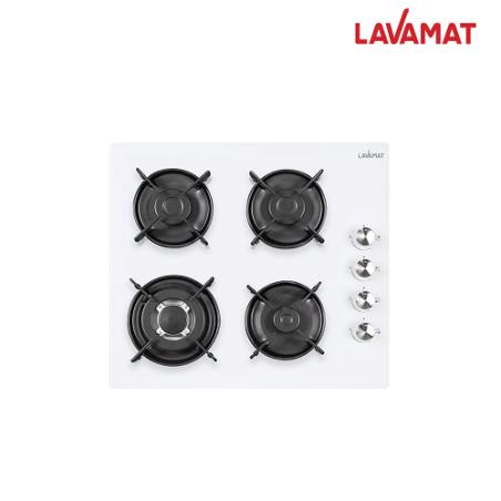 כיריים גז 4 להבות זכוכית LAVAMAT דגם LVH66