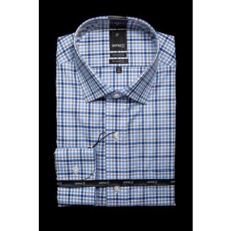 חולצה אימפרס 74 גזרה רגילה עם כיס