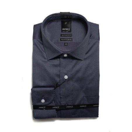 חולצה אימפרס 76 שרוול ארוך גזרה רגילה עם כיס