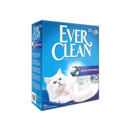 חול אבר קלין כחול מולטי קריסטל- ever clean