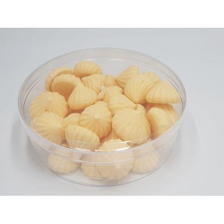 עוגיות נשיקות מרנג בטעם וניל ללא תוספת סוכר