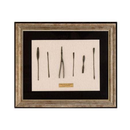 העתק ממוסגר - סט רפואי 6 כלים