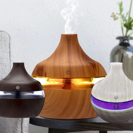 דפיוזר - מכשיר אדים קרים ריחני מנורת לילה