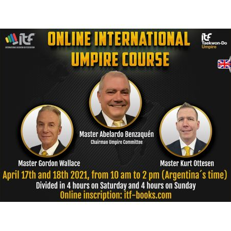 ONLINE UMPIRE COURSE IN ENGLISH