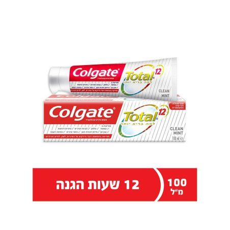 קולגייט טוטאל משחת שיניים קלין מינט 100 מ'ל - כשל'פ