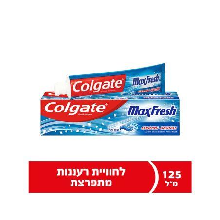 קולגייט מקס פרש משחת שיניים 125 מ'ל