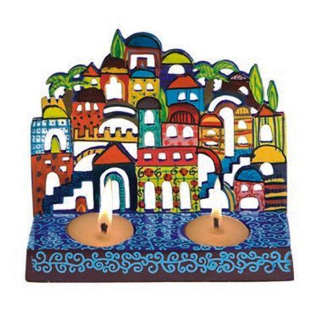 פמוטים צבעוניים ירושלים